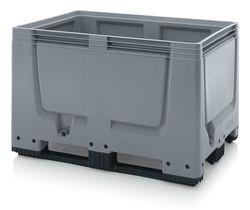 ABBBG 1208K Bigbox zárt műanyag konténer 120x80x79 cm