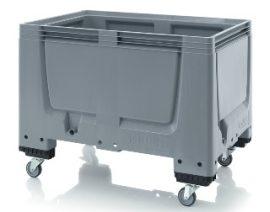 ABBBG1208R Bigbox zárt műanyag konténer kerekekkel 120x80x93 cm