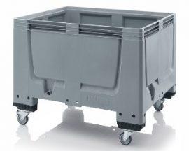 ABBBG 1210R  Bigbox zárt műanyag konténer kerekekkel 120x100x93 cm