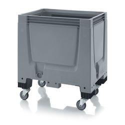 ABBBG 86R Bigbox zárt műanyag konténer kerekekkel 80x60x93 cm