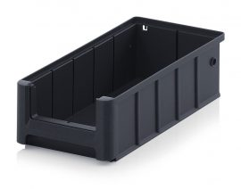 ESD nyitott tárolódoboz, 30x15,6x9 cm