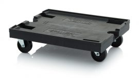 ABESD szállító roller 82x62 cm, 4 irányítható kerékkel