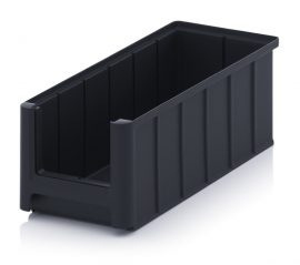 ESD nyitott tárolódoboz, 32,5x15x12,5 cm