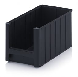 ESD nyitott tárolódoboz, 35x21x20 cm