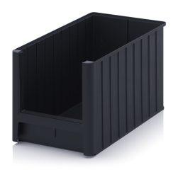 ESD nyitott tárolódoboz, 50x31x30 cm