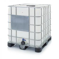 AB IBC 1000 L tartály műanyag raklapon K 225.80