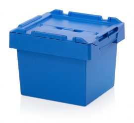 ABMBD 4327 Műanyag fedeles láda 40x30x29 cm