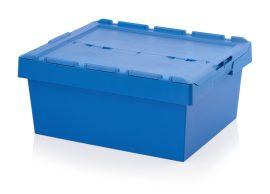 ABMBD 8632K Műanyag fedeles láda 80x60x34 cm