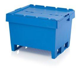 ABMBD 8642K Műanyag fedeles láda 80x60x54 cm