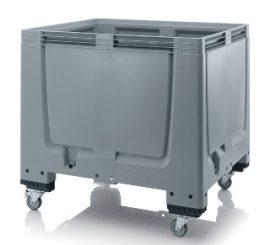 ABMBG 1210R  Bigbox zárt műanyag konténer 120x100x100 cm