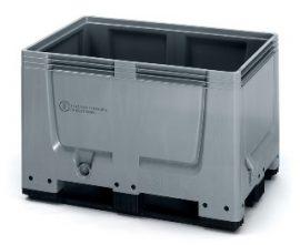 ABUNBBG 1208K Bigbox zárt műanyag konténer 120x80x79 cm (UN kóddal)
