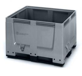 ABUNBBG 1210K Bigbox zárt műanyag konténer 120x100x79 cm (UN kóddal)