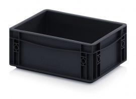 ABESD EG 32/12 HG műanyag láda 30 x 20 x 12 cm