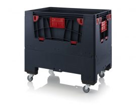 ABESD KLK 1208R összecsukható konténer 120 x 80 x 110 cm