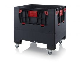 ABESD KLK 1210R összecsukható konténer 120x100x110 cm