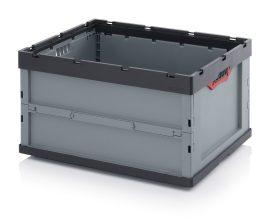 ABFB 86/445 összecsukható műanyag láda 80x60x44,5 cm