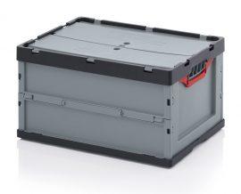ABFBD 64/32 összecsukható műanyag láda 60x40x32 cm