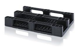 ABMPHD 1208 erősített műanyag raklap 120 x 80 x 16 cm