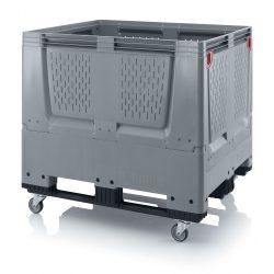 ABKLO 1210KR Összehjtható Szellőzőréses Bigbox 120 x 100 x 114 cm
