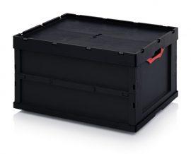 ABESD FBD 86/445 összehajtható láda 80x60x44,5 cm
